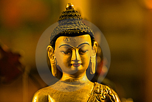 Antique Buddha Stock Image - Image: 6867181