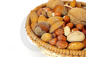 Basket Of Nuts Royalty Free Stock Photo - Image: 6868475