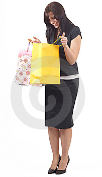 Portrait Of Beautiful Brunette Woman Stock Images - Image: 6869774