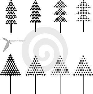 Xmas Tree Stock Photo - Image: 6871070