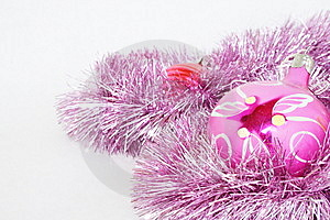 Toys On A Fur-tree Royalty Free Stock Image - Image: 6875216