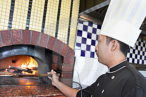 Cooking Pizza Royalty Free Stock Photography - Image: 6876017