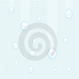 Water Or Rain Drops Stock Images - Image: 6876484