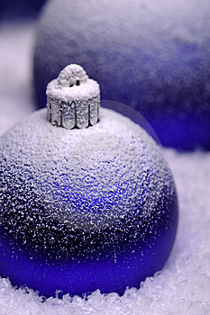 Christmas Baubles Royalty Free Stock Images - Image: 6877049