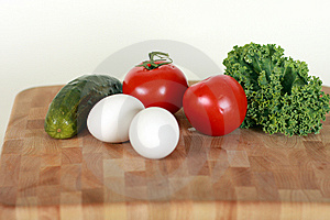 Vegetables And Eggs Stock Photo - Image: 6877650