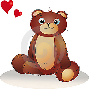 Teddybear In Love Royalty Free Stock Photography - Image: 6878897