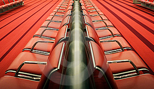 Red Chairs Royalty Free Stock Image - Image: 6879776