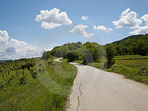 Never Ending Road Royalty Free Stock Photography - Image: 6881577
