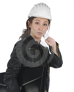 Portrait Of Architect Woman Royalty Free Stock Photo - Image: 6883715