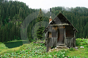The Wood Cabin Royalty Free Stock Photos - Image: 6890358