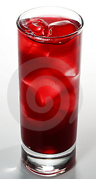 Red Alcoholic Cocktail Stock Photo - Image: 6893080