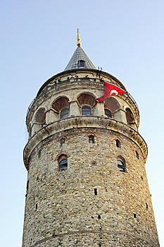 Galata Tower, Istanbul, Turkey Royalty Free Stock Image - Image: 6893816