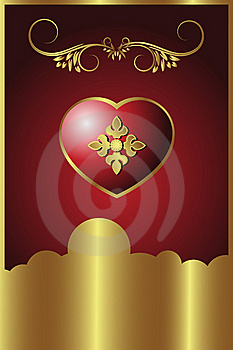 Royal Heart Royalty Free Stock Image - Image: 6894186