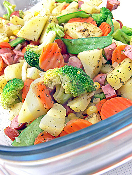 Vegetables In Pan Royalty Free Stock Photography - Image: 6894617