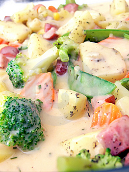 Vegetables In Sauce Stock Photo - Image: 6894830