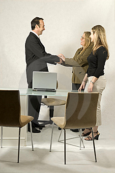 People in Business Meeting Stock Photos