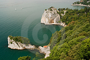 Duino Castle Royalty Free Stock Photo - Image: 6896465
