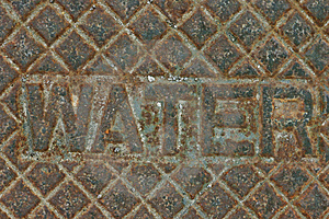Iron Water  Supply Cover Royalty Free Stock Photo - Image: 694685