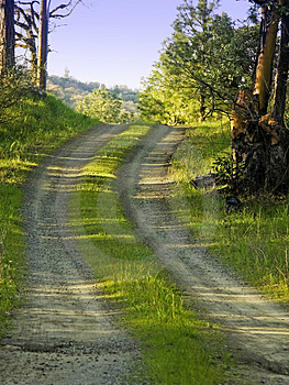 Country Dirt Road Stock Images - Image: 696914