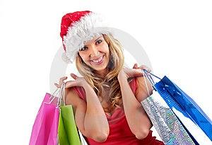 Santa Girl Stock Image - Image: 6900521