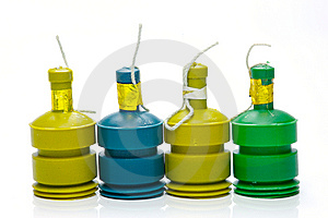 Party Poppers Stock Photo - Image: 6900770