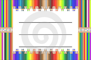 Pencil Label Vector Royalty Free Stock Photography - Image: 6901597