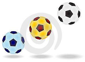 Soccer Balls Stock Image - Image: 6901651