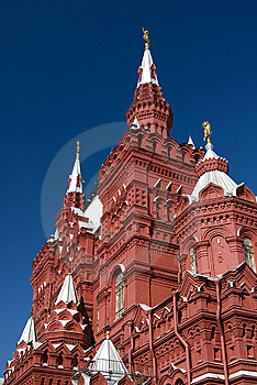 History Museum At The Red Square In Moscow Royalty Free Stock Image - Image: 6901806