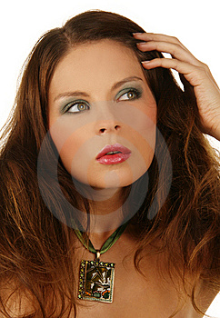 Close-up Portrait Of Beautiful Woman With Professi Royalty Free Stock Photo - Image: 6903115