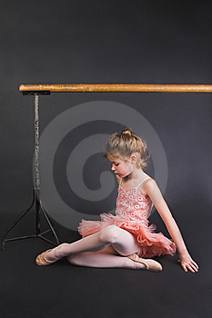 Tiny Ballerina Stock Photography - Image: 6903572