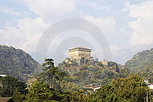 Castle In Italy, Aosta Royalty Free Stock Images - Image: 6904489