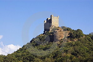 Castle In Italy, Aosta Stock Image - Image: 6904491