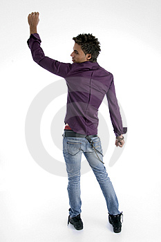 Back Pose Of Standing Model Stock Photos - Image: 6905183
