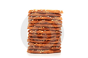 Stack Of Cookies. Stock Image - Image: 6907891