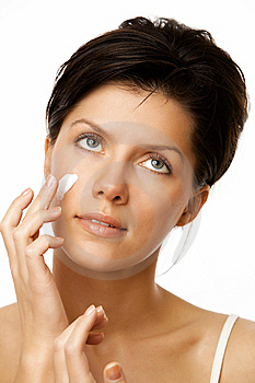 Healthy skin Stock Images