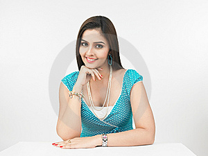 Portrait Of A Asian Woman Royalty Free Stock Images - Image: 6911389