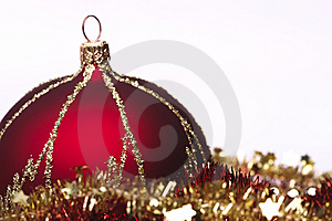 Red Christmas Decorations Royalty Free Stock Photos - Image: 6912898