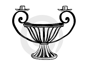 Candelabrum Design Stock Photography - Image: 6918732