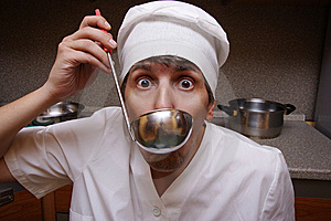 Scary Cook Stock Images - Image: 6922164
