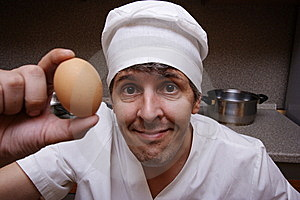 Scary Cook Stock Photos - Image: 6922173