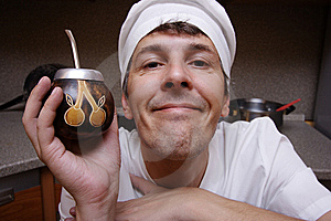 Scary Cook Royalty Free Stock Photo - Image: 6922235