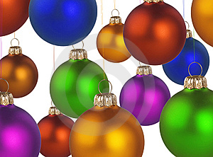 Christmas Colorful Balls Royalty Free Stock Photos - Image: 6923678
