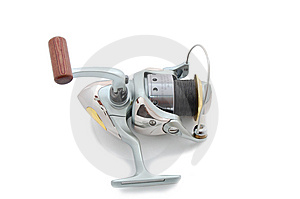 Spinning Reel Royalty Free Stock Images - Image: 6926549