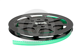 Film Reel Royalty Free Stock Photography - Image: 6928127