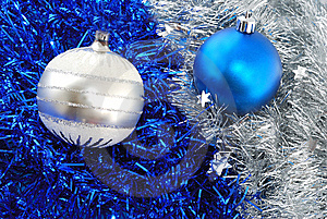 Christmas Balls Decorations Royalty Free Stock Photo - Image: 6930805