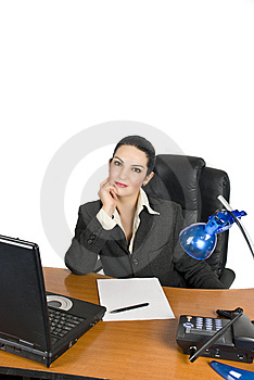 Confident businesswoman Royalty Free Stock Image