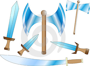 Battle Weapons Royalty Free Stock Photography - Image: 6959337