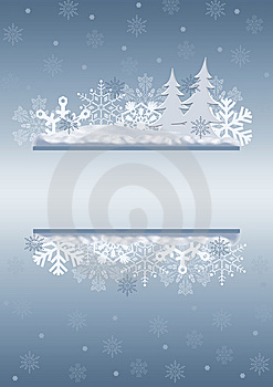 Celebratory Christmas border.