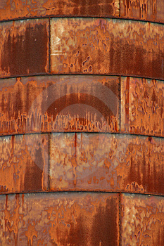 Rusty Silo 2 Royalty Free Stock Images