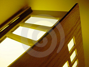 Wall Light Free Stock Photography